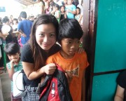 Back to school outreach 2012
