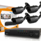 4channel 500 tvl outdoor cctv package