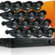 16 Channel Enterprise Power Pixel CCTV Package