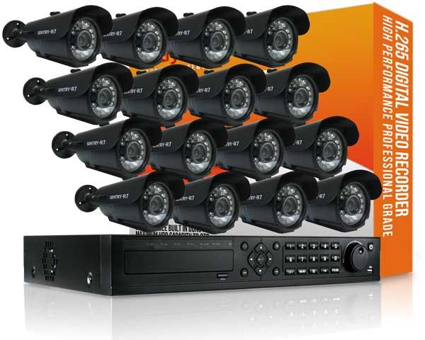 16 Channel Enterprise Power Pixel CCTV Package