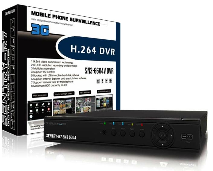 Full D1 DVR 4 Channel