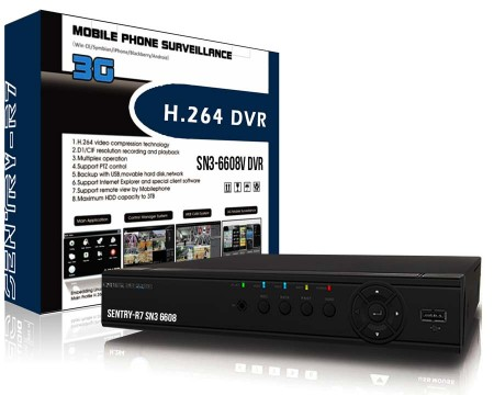 Sentry 8 Channel DVR