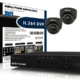 Sentry Power Pixel 2 Channel CCTV Package 1