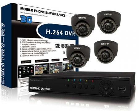 Power Pixel 4 Channel CCTV Package