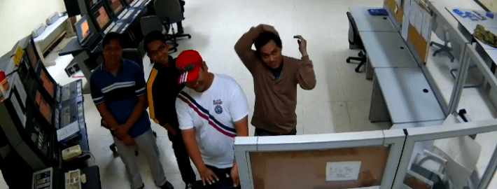 video clip of control room