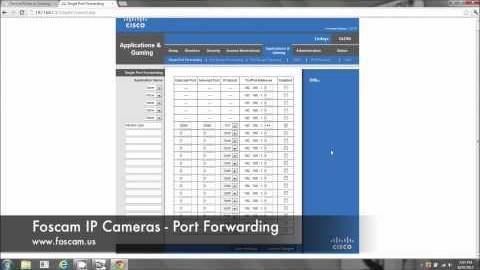 Port Forward Foscam Ip Camera PC Guide