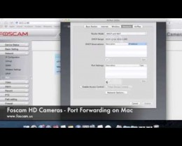 Wireless Setup on Mac Foscam Guide