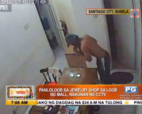 Jewelry store robbery in Isabela