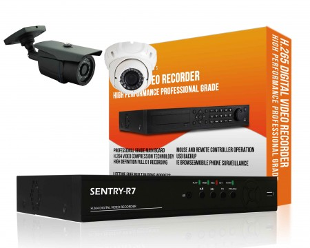 Home CCTV Packages Indoor and Outdoor 2 Channel