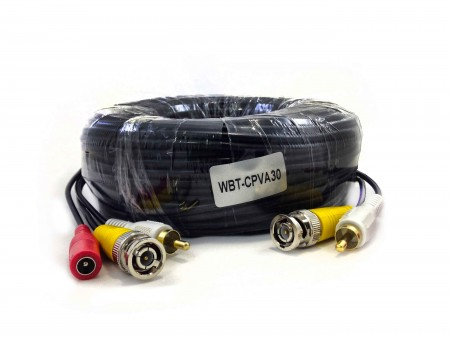 30 meters siamese cable
