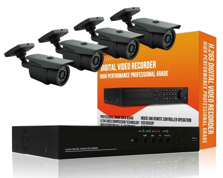 Outdoor 960H CCTV Package