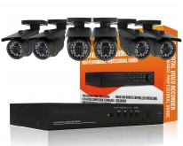 6 Channel Outdoor D1 CCTV Package
