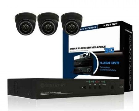 3 Channel CCTV Package