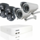 4 channel IP camera package