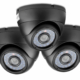 600 TV Lines Dome CCTV Camera