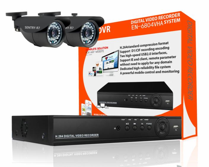 outdoor cctv camera kit