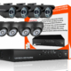 8 channel indoor outdoor cctv package