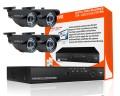 4 outdoor cctv cameras