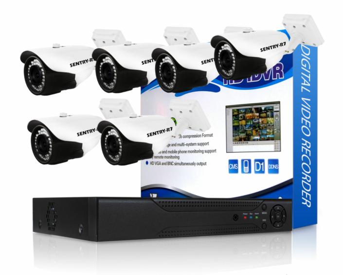 720p AHD CCTV Camera Package