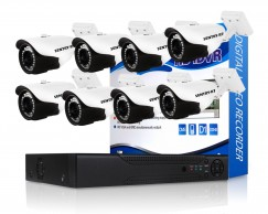 720p 8 Channel AHD CCTV Kit