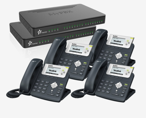 ip-pbx over pbx