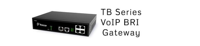 TB Series VoIP BRI Gateway